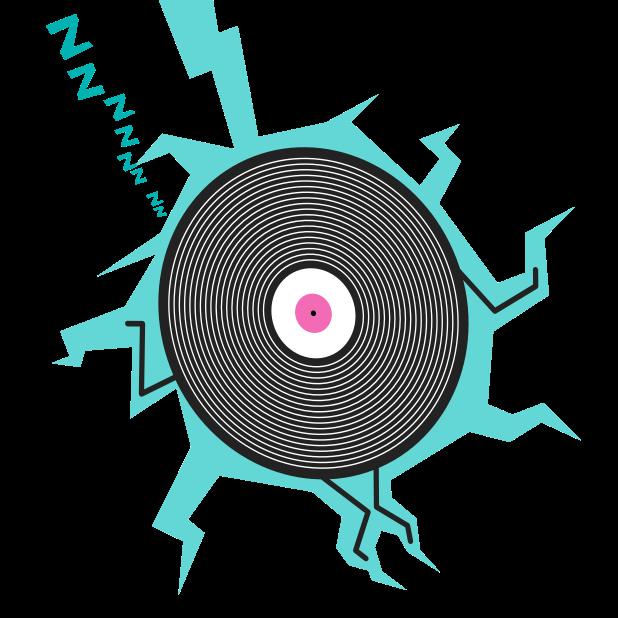 Fip – radio & music streams messages sticker-0