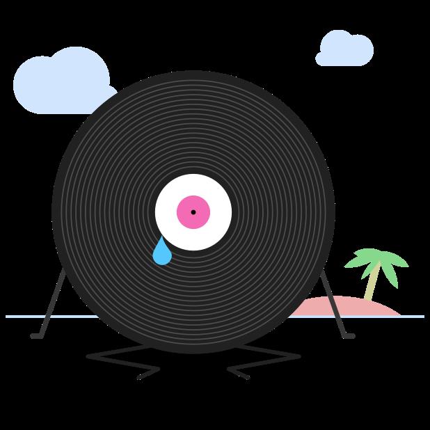 Fip – radio & music streams messages sticker-1