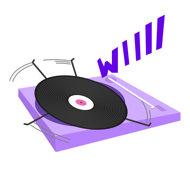 Fip – radio & music streams messages sticker-3