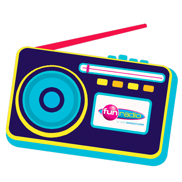 Fun Radio - Le Son Dancefloor messages sticker-0