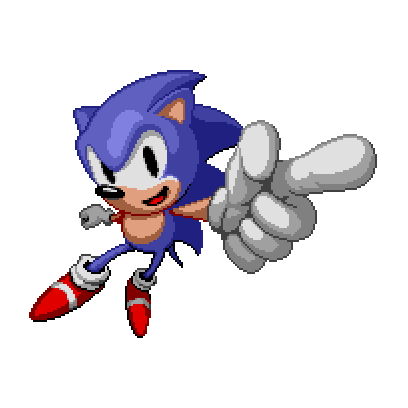 Sonic The Hedgehog Classic messages sticker-8