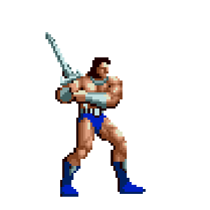 Golden Axe Classic messages sticker-0