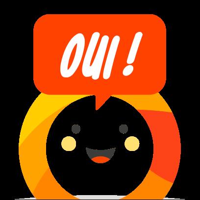 OUI.sncf: Train travel messages sticker-6