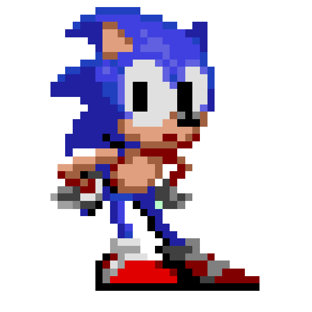 Sonic The Hedgehog 2 Classic messages sticker-5