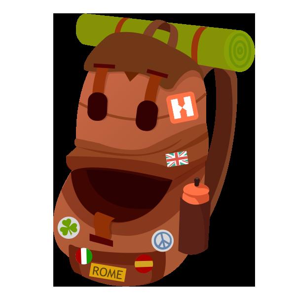 Hostelworld: Hostel Travel App messages sticker-2