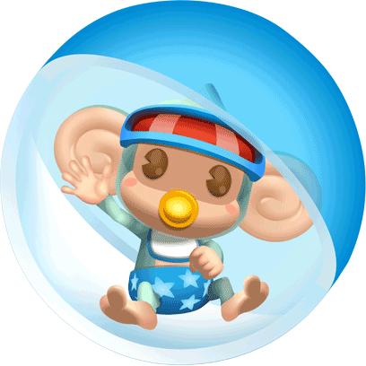 Super Monkey Ball: Sakura messages sticker-1