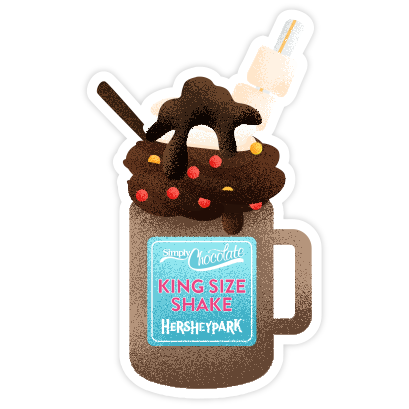 Hersheypark messages sticker-7