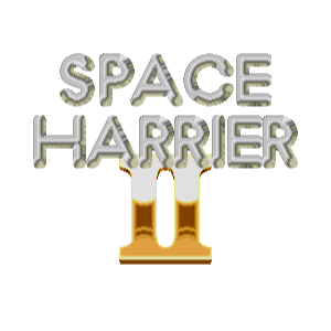 Space Harrier II Classic messages sticker-3