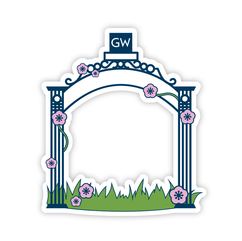 GWU Mobile messages sticker-11