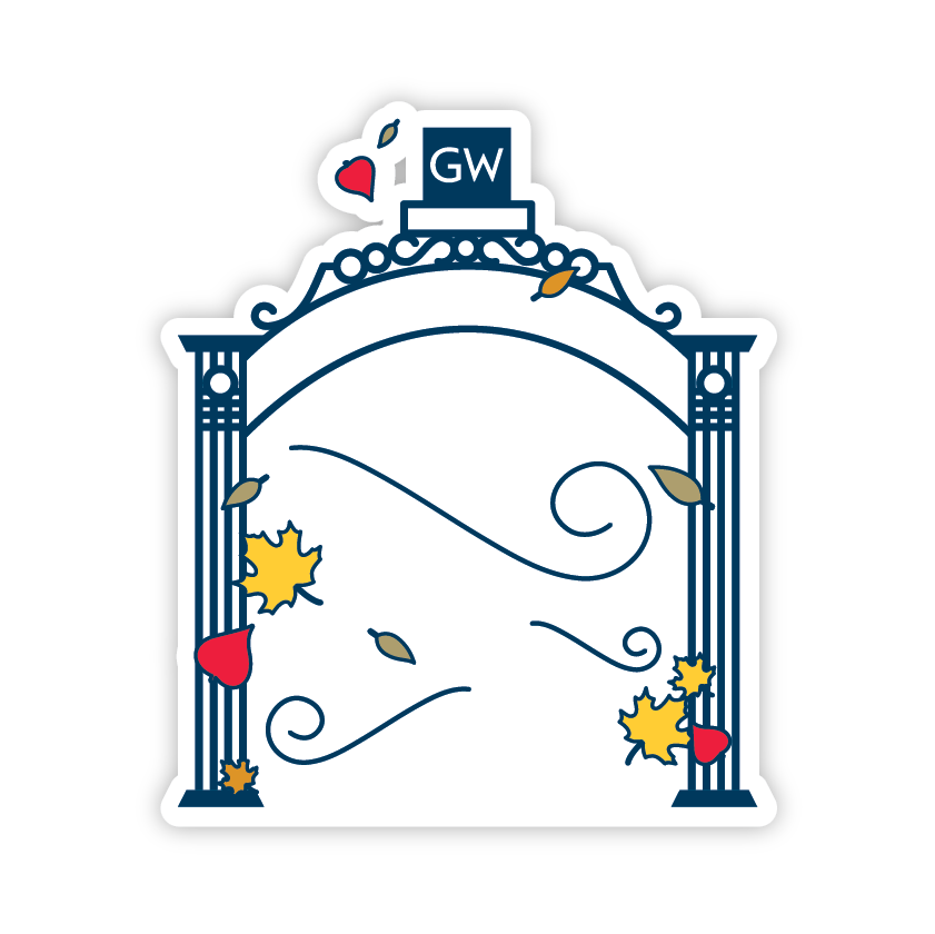GWU Mobile messages sticker-10