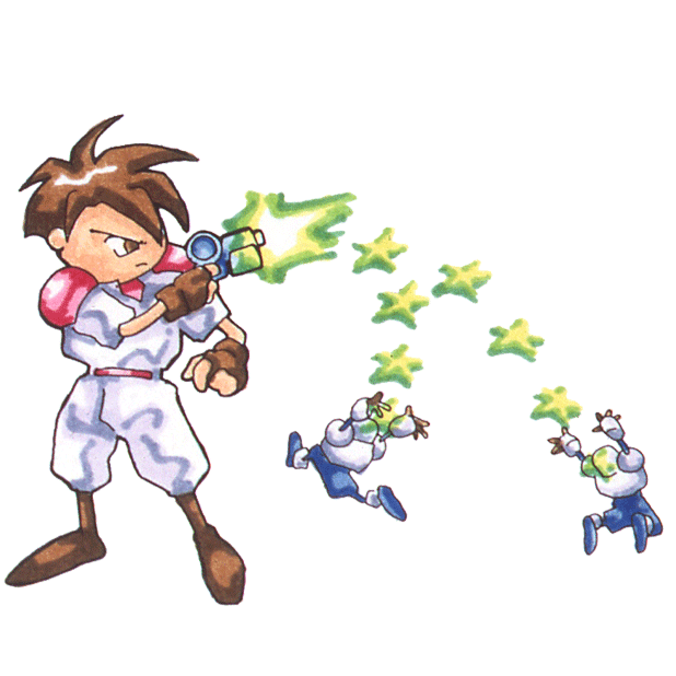 Gunstar Heroes Classic messages sticker-5