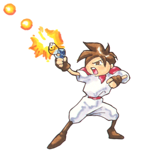 Gunstar Heroes Classic messages sticker-1