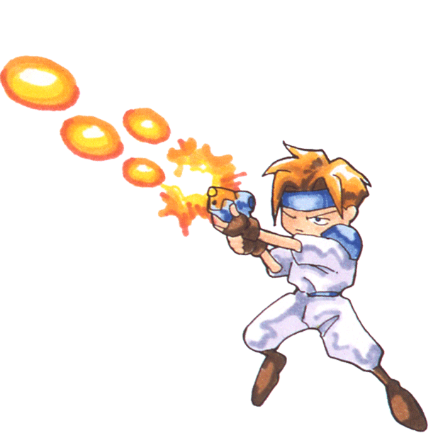 Gunstar Heroes Classic messages sticker-0