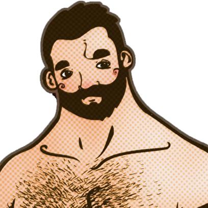 u4Bear: Gay bear social messages sticker-2