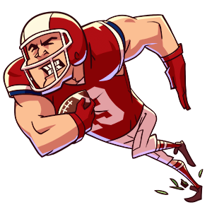 Flick Kick Field Goal Kickoff messages sticker-1