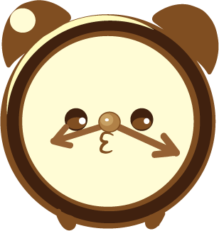 ClockZ | Clock Display + Alarm messages sticker-2