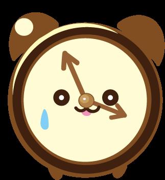 ClockZ | Clock Display + Alarm messages sticker-10