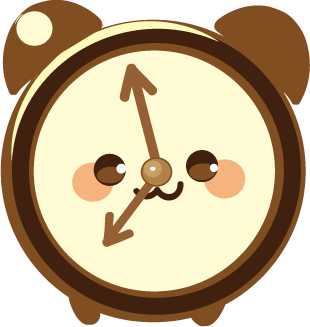 ClockZ | Clock Display + Alarm messages sticker-9