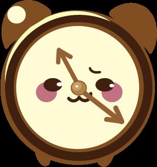 ClockZ | Clock Display + Alarm messages sticker-1