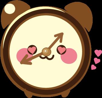 ClockZ | Clock Display + Alarm messages sticker-11