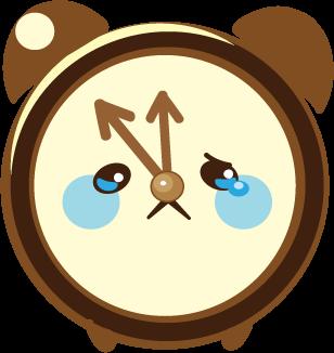 ClockZ | Clock Display + Alarm messages sticker-6