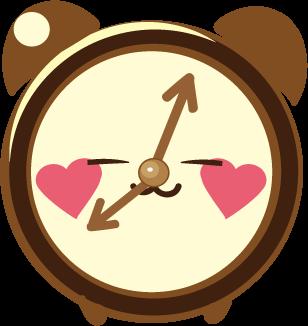 ClockZ | Clock Display + Alarm messages sticker-4