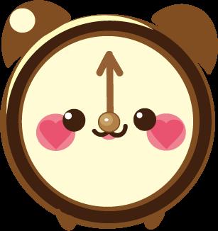 ClockZ | Clock Display + Alarm messages sticker-3