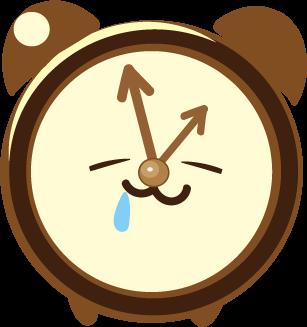 ClockZ | Clock Display + Alarm messages sticker-0