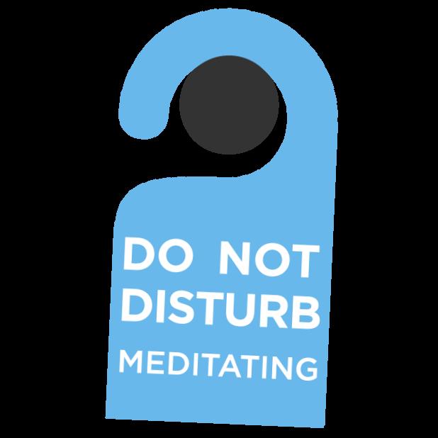 The Mindfulness App - meditate messages sticker-4