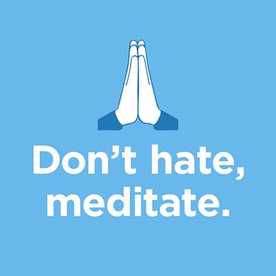 The Mindfulness App - meditate messages sticker-1