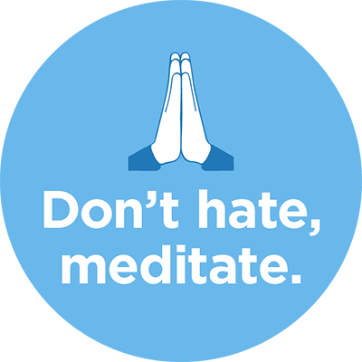 The Mindfulness App - meditate messages sticker-1