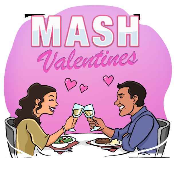 MASH: Valentines Edition messages sticker-3