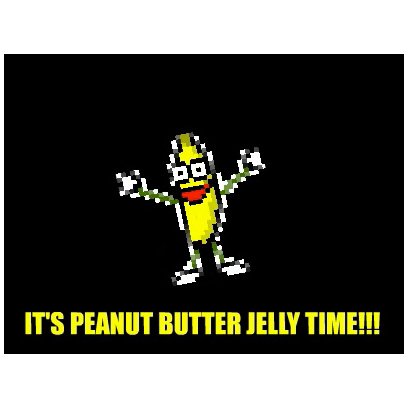 Peanut Butter Jelly Time messages sticker-1