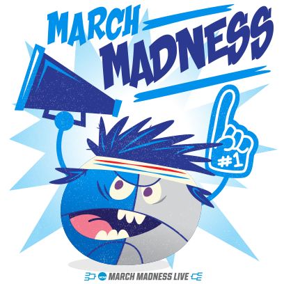 NCAA March Madness Live messages sticker-1