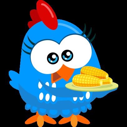 Lottie Dottie Chicken Official messages sticker-6