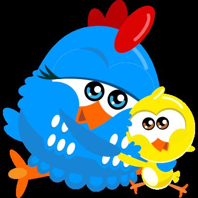Lottie Dottie Chicken Official messages sticker-9