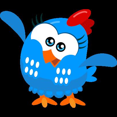 Lottie Dottie Chicken Official messages sticker-4
