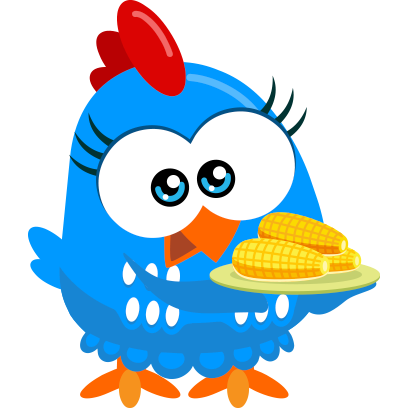 Lottie Dottie Chicken Official messages sticker-6