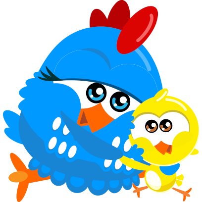 Lottie Dottie Chicken Official messages sticker-9