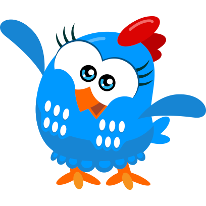 Lottie Dottie Chicken Official messages sticker-4