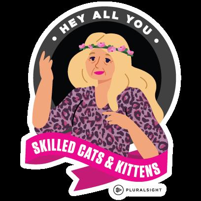 Pluralsight: Learn Tech Skills messages sticker-2