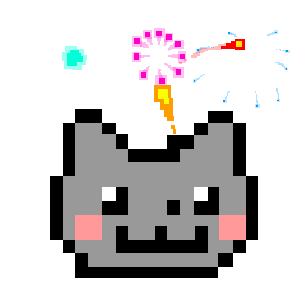 Nyan Cat: Lost In Space messages sticker-2