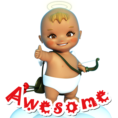 Talking Cupi HD messages sticker-11
