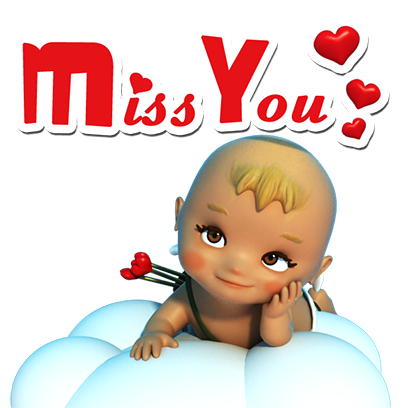 Talking Cupi HD messages sticker-2