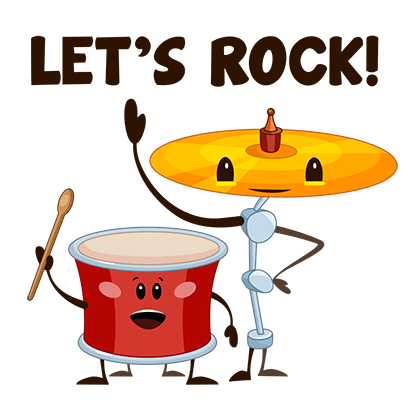 WeDrum - Drums, Drum Pad Games messages sticker-7