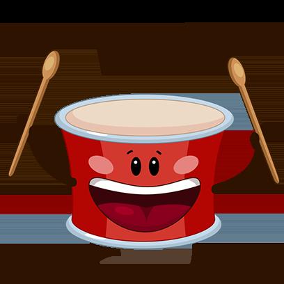 WeDrum - Drums, Real Drum Kit messages sticker-2