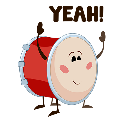 WeDrum - Drums, Real Drum Kit messages sticker-0