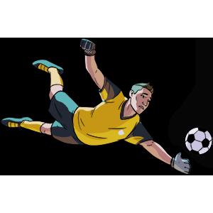 Flick Kick Goalkeeper messages sticker-9