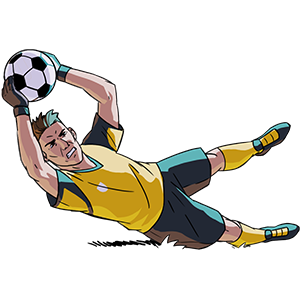 Flick Kick Goalkeeper messages sticker-4