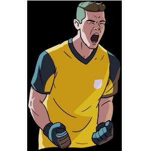 Flick Kick Goalkeeper messages sticker-8